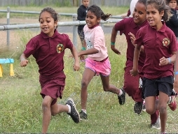 Cross Country trials at Cherbourg State School